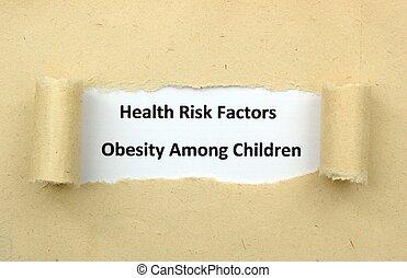 孩子, 肥胖症