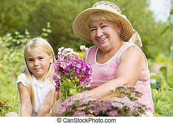孫, 彼女, 祖母