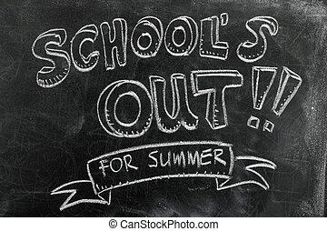 學校向外是