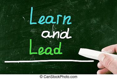 學習, 以及, 領導