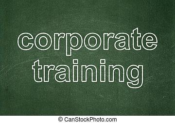 學習, concept:, 社團的訓練, 上, 黑板, 背景