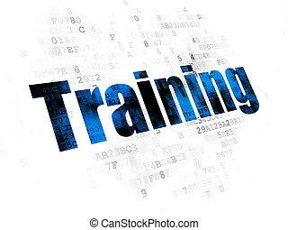 學習, concept:, 訓練, 上, 數字的背景