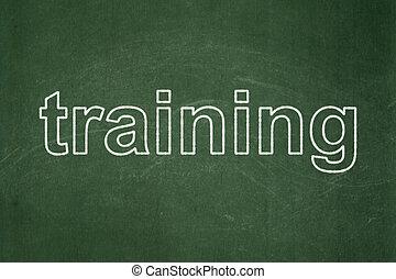 學習, concept:, 訓練, 上, 黑板, 背景