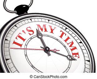 它, 是, 我, 時間, 概念, 鐘