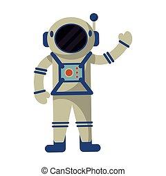 宇宙飛行士訴訟, 検証, スペース