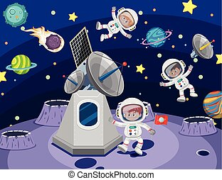 宇宙飛行士, スペース