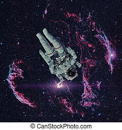 宇宙飛行士, 外の, space.