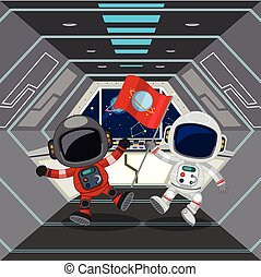宇宙飛行士, 宇宙船