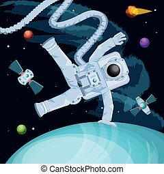 宇宙飛行士, 特徴, スペース