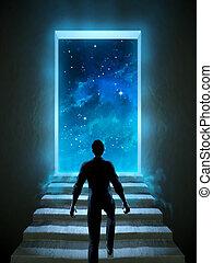 宇宙, ドア