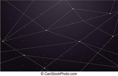 宇宙, 抽象的, 幾何学的, 背景