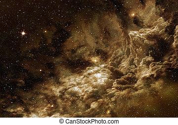 宇宙, 气体