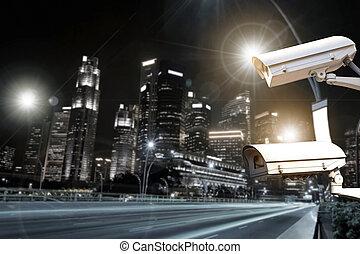 安全照像机, 交通, 監視