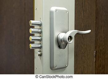 安全, 門鎖