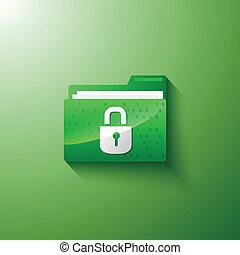 安全, 隱私, 文件夾