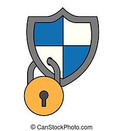 安全, cyber, 數字