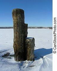 安大略, 湖, 冬季