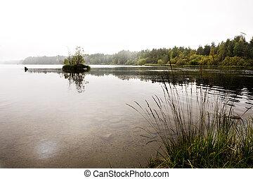 安静, 湖