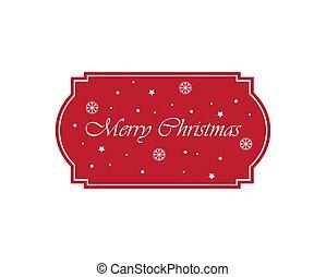 完全, クリスマス, ラベル, 招待, label., announcements., ∥あるいは∥