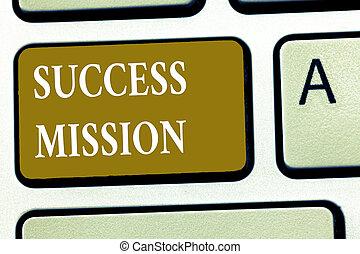 完全, 仕事, 成功, 得ること, テキスト, 提示, いいえ, 印, mission., 仕事, 間違い, される, 方法, 写真, 概念, 作られた