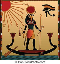 宗教, の, 古代エジプト