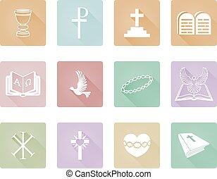 宗教, キリスト教徒, アイコン