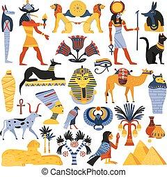 宗教, 古代, セット, 要素, エジプト人