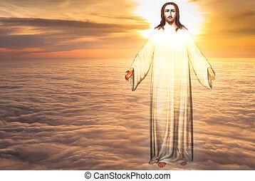 宗教, 概念, 天国, キリスト, イエス・キリスト
