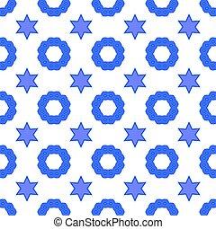 宗教, david, 星, seamless, シンボル, バックグラウンド。