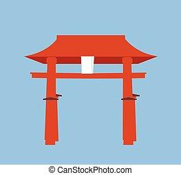 宗教, torii のゲート