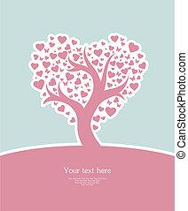 定型, 愛, 木
