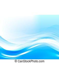 定型, 水, ベクトル, 波
