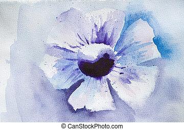 定型, 花