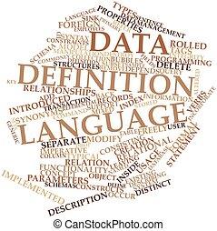 定義, データ, 言語