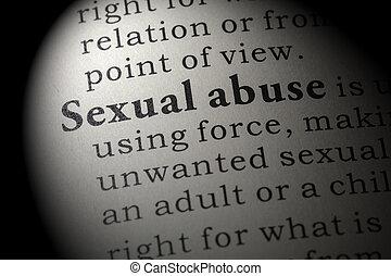 定義, 性的虐待