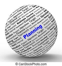 定義, 手段, 目的, 代表団, 球, 計画, ∥あるいは∥