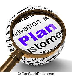 定義, 手段, 管理する, 計画, 計画, 目的, magnifier, ∥あるいは∥