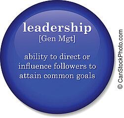 定義, 用語, リーダーシップ, 辞書