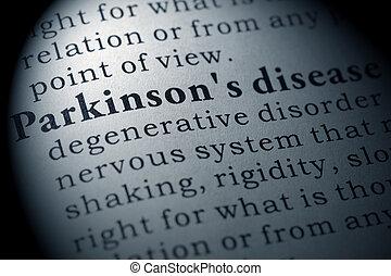 定義, ......的, parkinson's, 疾病