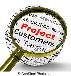 定義, 管理, 代表団, 手段, プロジェクト, magnifier