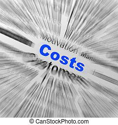 定義, 管理, 財政, 球, コスト, ディスプレイ, r, ∥あるいは∥