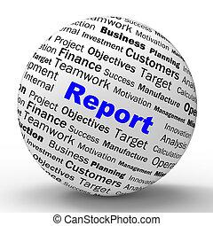 定義, 統計量, 財政, 提示, 球, レポート, 進歩, レビュー