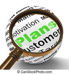 定義, 顧客, ターゲット, 整理, magnifier, ショー, ∥あるいは∥, 計画