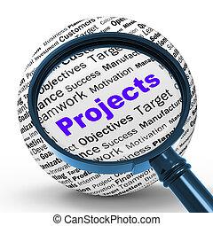 定義, en, 活動, 手段, プログラミング, magnifier, ∥あるいは∥, プロジェクト