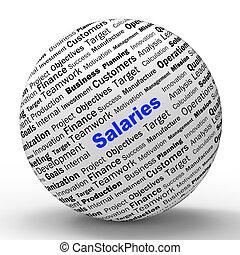 定義, incomes, 手段, salaries, 雇用者, 球, 所得, ∥あるいは∥