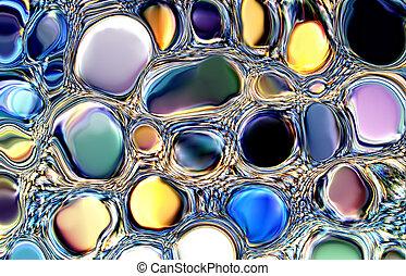 宝石, 抽象的