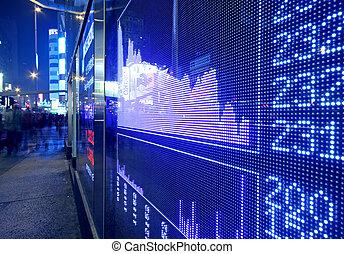 实时, 行情, 在, the, 股票, exchange.