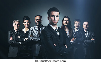 実業家のグループ
