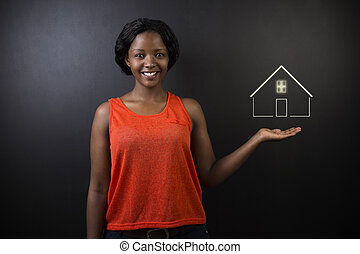 実質, アメリカの女性, 財産, アフリカ
