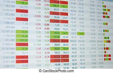 実質, 交換, 引用, 引用, 時間, 市場, 株